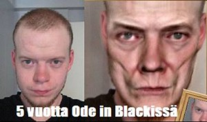 5 vuotta Ode In Blackissa
