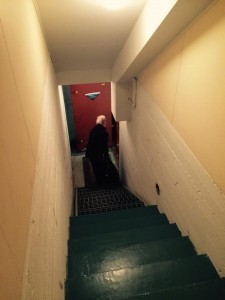 Roudausystävälliset portaat